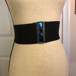 Black forever 21 waist belt